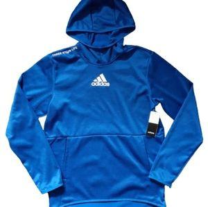NWT Adidas Pullover Hoodie - Three Stripe Life